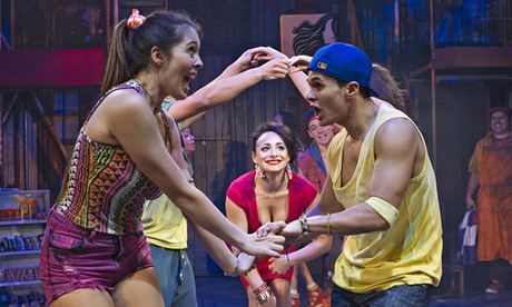 In the Heights review – lively Latino West Side Story-cum-East Enders