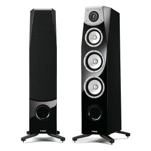 YAMAHA SOAVO-1 - sets a new standard in sound excellence, delivering impressive power and dynamic range, a wide stereo image and deep bass output. This three-way, floor-standing, dual-woofer speaker system achieves superb clarity from extremely low to high levels, and a full, spacious sound.