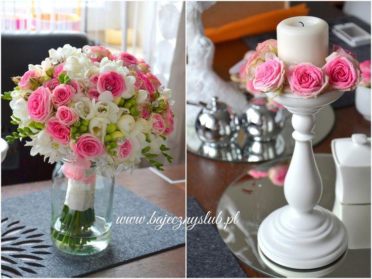 wiązanka+ślubna++frezje++róże+świdnica+wrocław+wałbrzych+bukiet+slubny+.jpg…