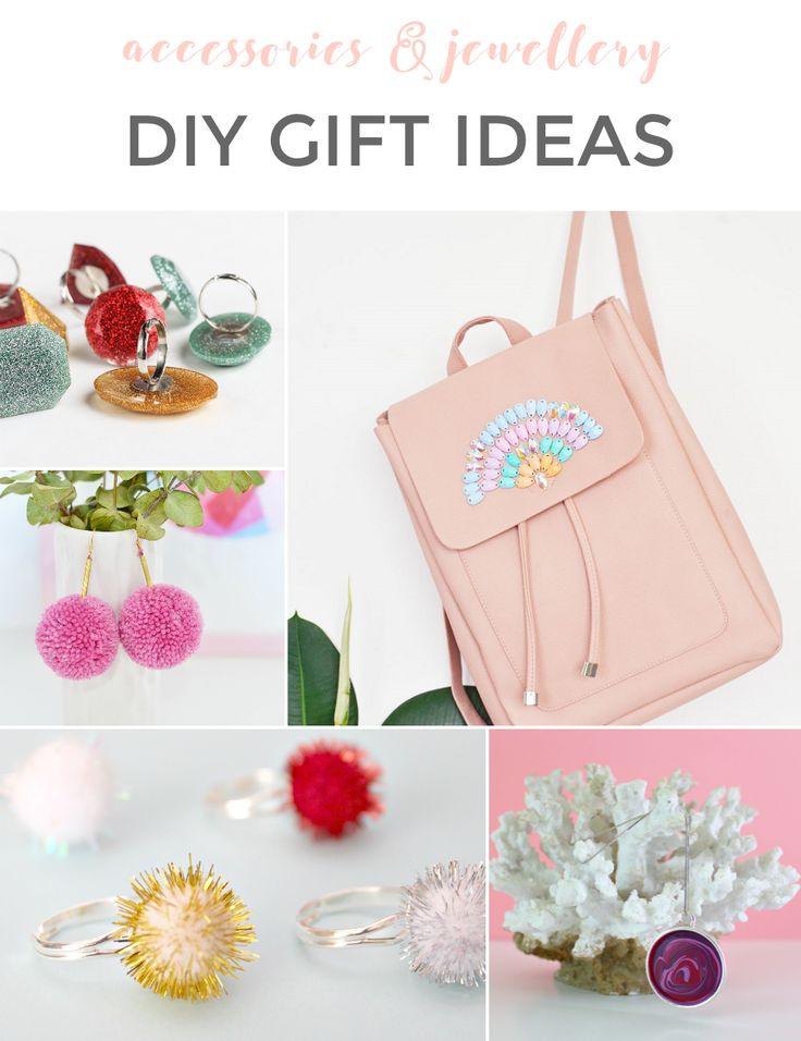 DIY HOLIDAY GIFT IDEAS: ACCESSORIES & JEWELLERY