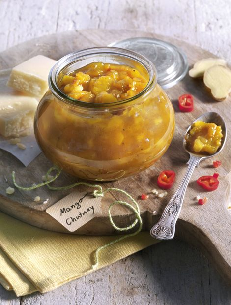 Mango-Chutney - Herzhafter Genuss zu Fleisch, Fisch und Fondue