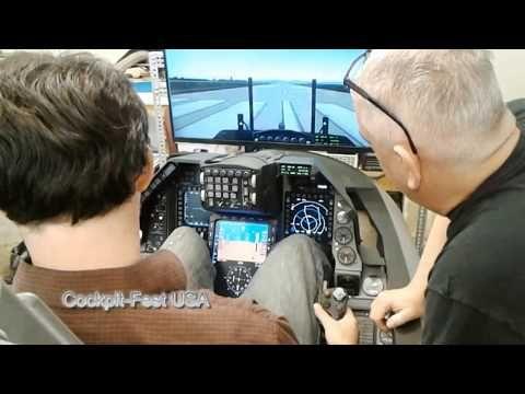 Williamson F-16 Simulator for sale www CockpitFestUSA org