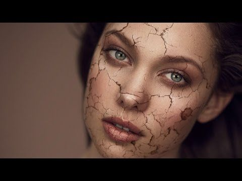 Fire effect for skin in photoshop