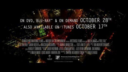 Free Fall DVD Release TRAILER (2014) - Malcolm McDowell, Ian Gomez Thriller HD