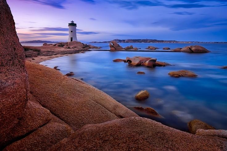 Palau lighthouse, Sardinia