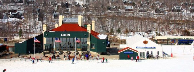 Book for a Ski Package at New Hampshire and visit Loon for an ultimate ski vacation. This is a year round resort that has great activities for the entire family!