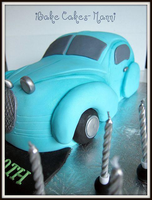 @KatieSheaDesign ♡❤ #Cars ❥  Cool car cake