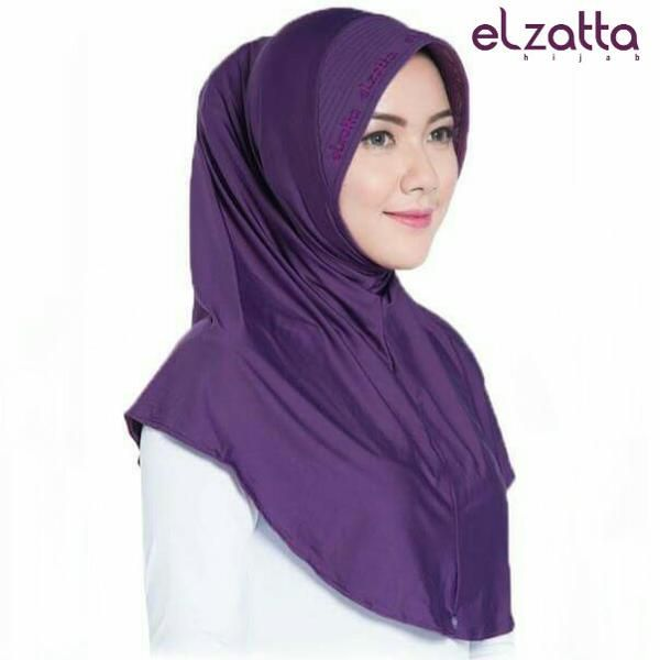 Beli Elzatta Bergo Zaria M Rumana   Jilbab  Kerudung  Scarf  Gamis dari Lavisya Butik lavisyaonline - Kab. Bogor hanya di Bukalapak