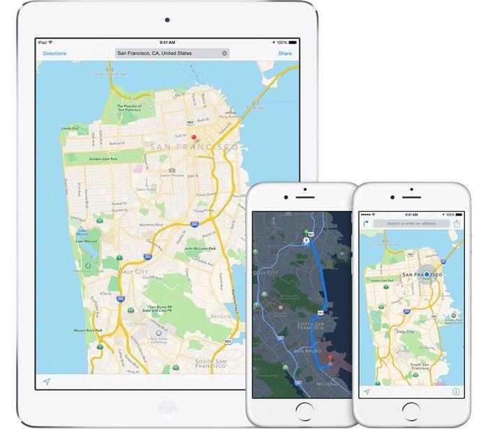 iOS 9 Apple Maps - iata ce locatii vor beneficia de noile functii | iDevice.ro