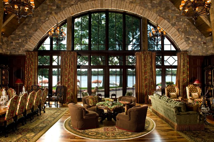 French Chateau - Living Room