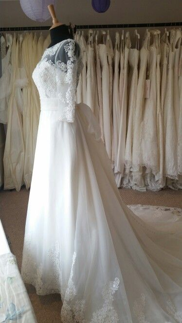 The stunning Charlotte gown by Charlotte Balbier available at Lace & Co.