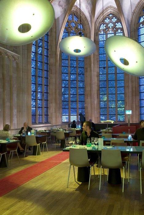 Kruisherenhotel i Maastricht. Hotellet er indrettet i et gammelt kloster fra 1500-tallet.