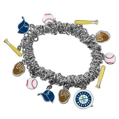 Seattle Mariners MLB Bracelet with Charms