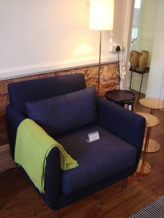 Denim chair by LIM