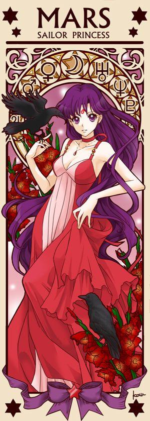 Princess Sailor Mars by Tsuki-kioku. Sailor Moon
