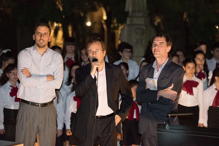 Apertura al Público, Sebastián Blanco (Director), Guillemo Alonso (Dir. Rel. Inst.), Darío Loperfido