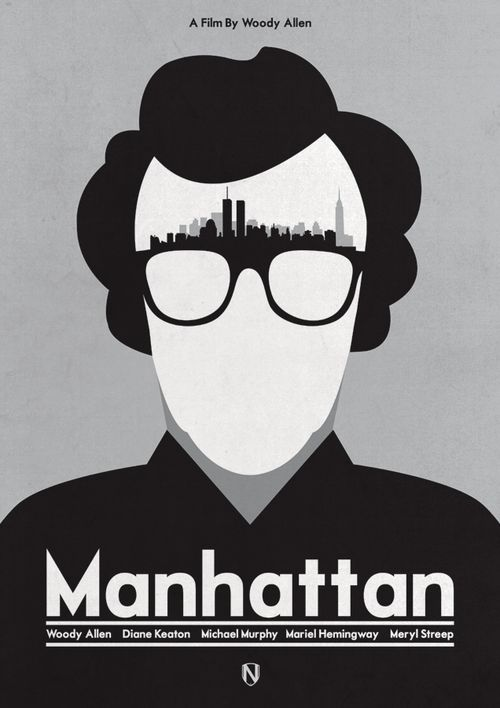 Minimal movie posters: Manhattan by needledesign