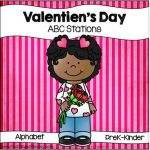 Valentine's Day Letter Discrimination Stations Nancy alvarez
