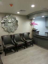 Doctors Office Waiting Room-I was the Project Manager and Design Assistant to celebrity designer Steven Cordrey of Cordrey Collection