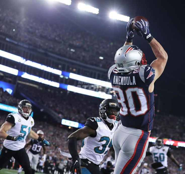 "#4: DANNY ""PLAYOFF"" AMENDOLA-Top 5 Photos from Jaguars vs. Patriots presented by CarMax 