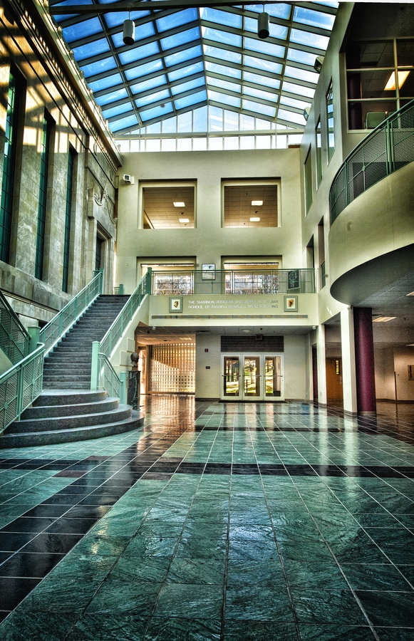 Where I will be spending all of my time the next 4 years, aka Rockwell Hall, Kent State University
