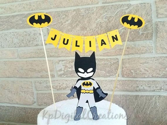La torta de Batman fiesta de cumpleaños del Super héroe la