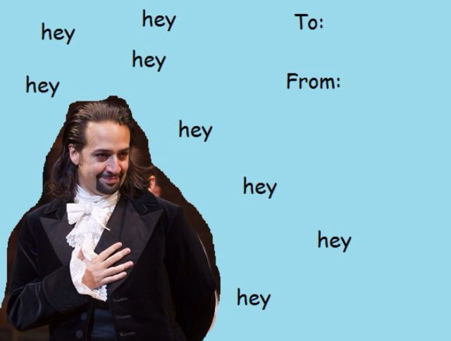 Hamiltines. I love this