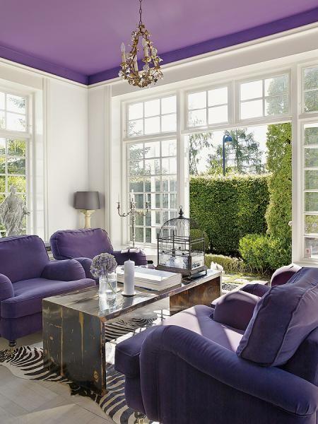 purple decor ♡ teaspoonheaven.com