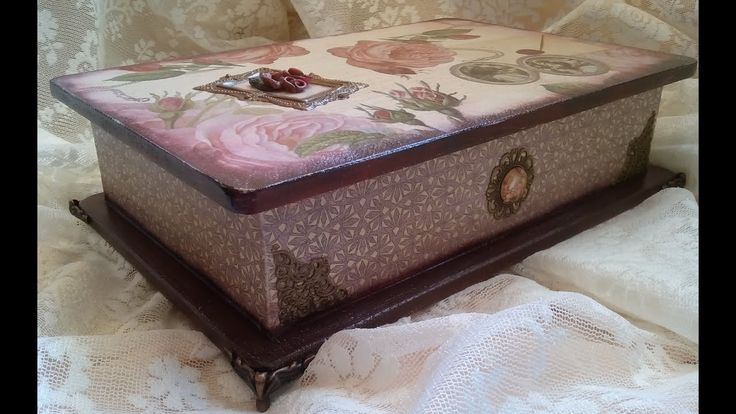Ντεκουπάζ σε κουτί!   Decoupage box!