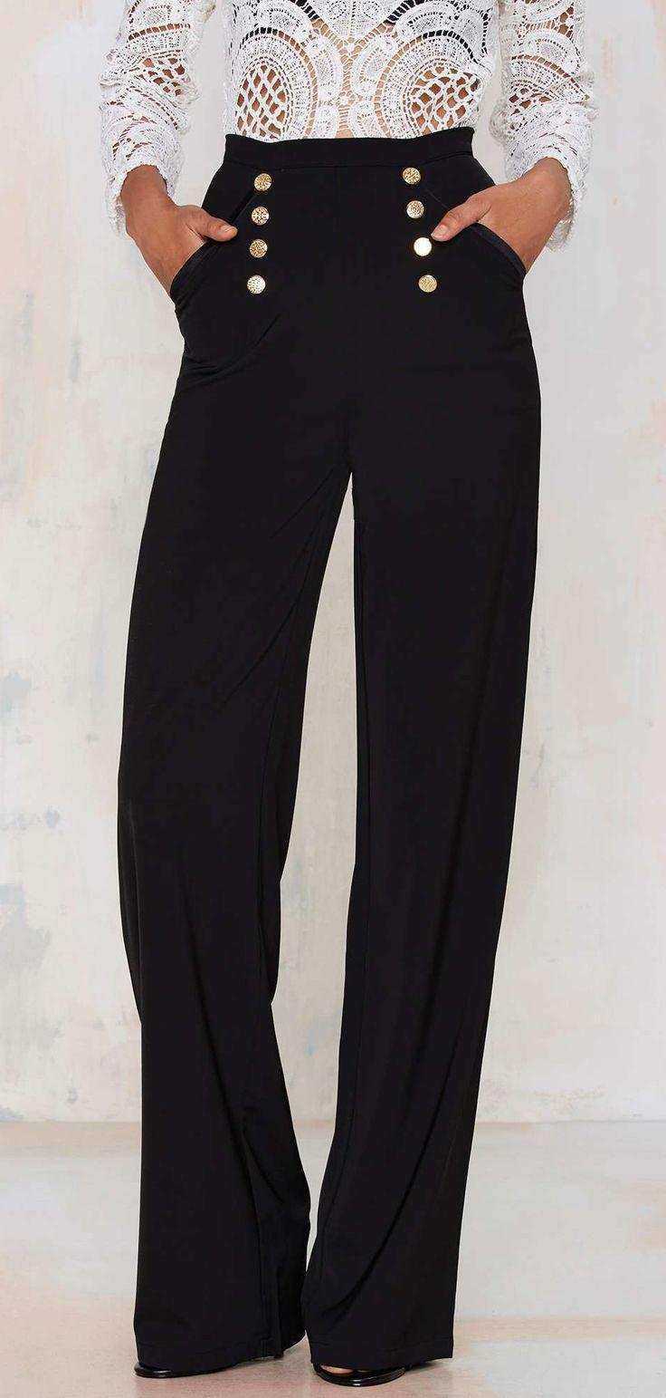 1000+ ideas about Elastic Waist Pants on Pinterest