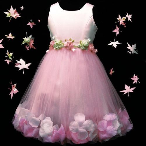 p8018 t15 Pink Gorgeous Wedding Communion X'mas Party Flower Girls Dress 2-7 yrs   eBay