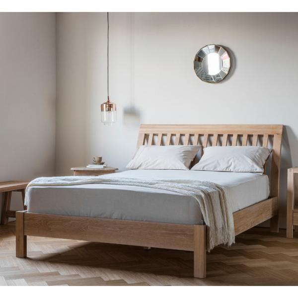 Gallery Hudson Marlow Bed In Grey Oak #bedroomfurniture #bedroom  #modernfurniture #interiordesign #