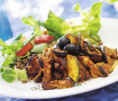 Recept: Grönsaksgryta med sardeller
