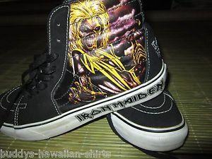 chaussures vans iron maiden