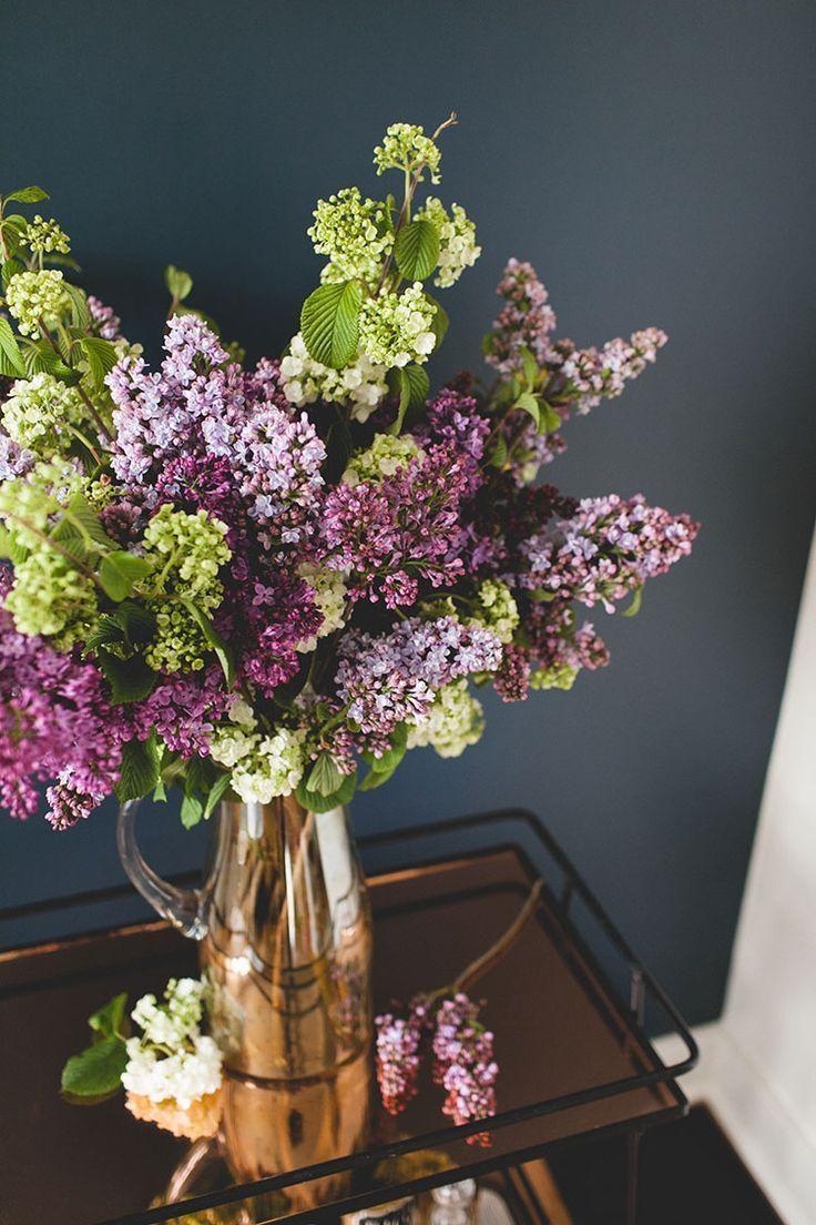 A Simple Statement Making Lilac Bouquet Diy Jojotastic Lilac Bouquet Flowers Bouquet Beautiful Flowers