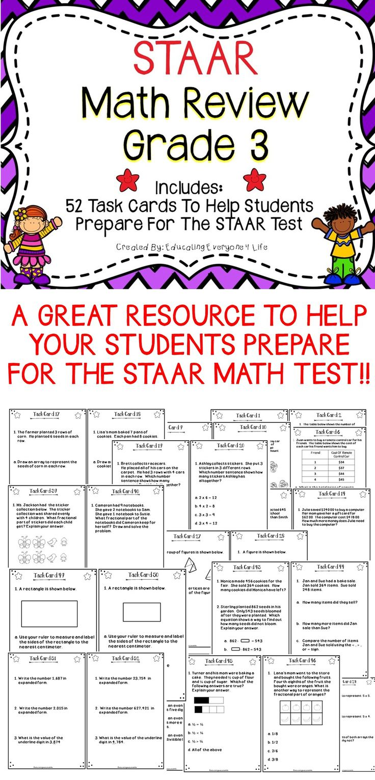 Worksheet 3rd Grade Math Help 78 best ideas about math task cards on pinterest staar review this is a set of 52 to use as for your third grade strudents and help them prepare for