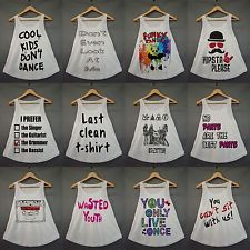 Swag Tumblr Collection YMCMB DRAKE T Shirt Girl Women Fashion Cream Tank Top