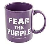 If anyone has ever dared to take your mug, this should fix it.  A bit of purple attitude is a good thing! $12.95