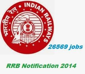 RRB Notification 2014: 26569 Posts | Latest Railway jobs