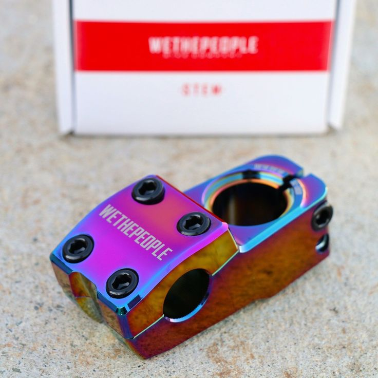 WE THE PEOPLE BMX HYDRA OIL SLICK BICYCLE STEM ODYSSEY FIT CULT ECLAT SUNDAY