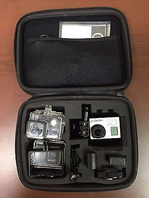 GoPro-HERO-3-Silver-Edition-10-0-MP-Silver-Excellent-Condition-See-PICS