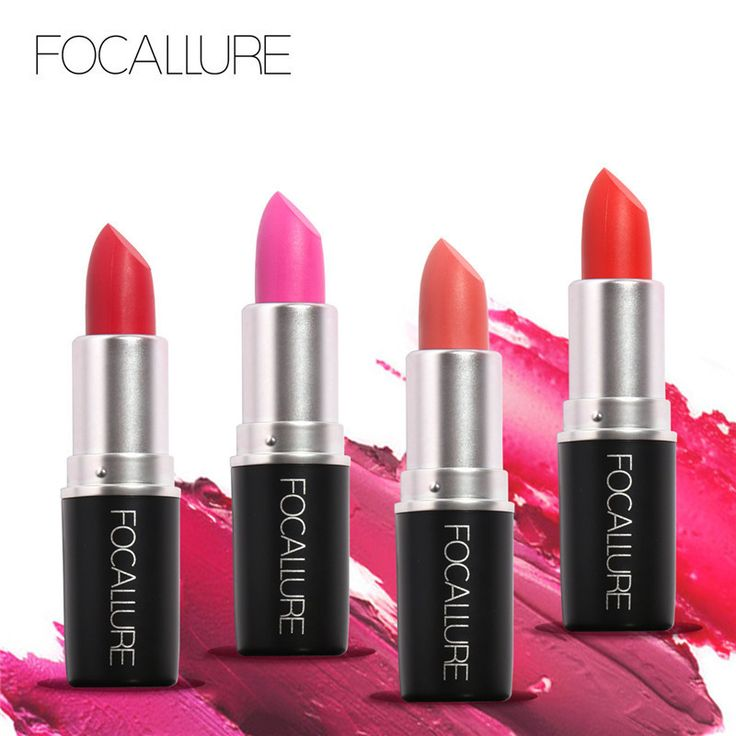 Lipstick  Brand FOCALLURE matte lipstick batom mate lip gloss batom matte beauty makeup  lips cosmetics mc lipkit red lip stick <3 Click the image for detailed description