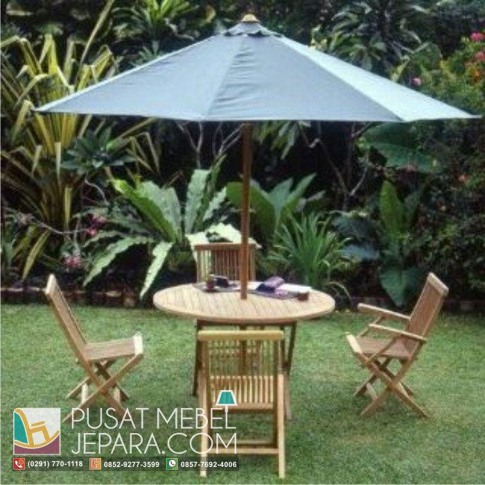 kursi-taman-lipat-meja-payung-picnic-table