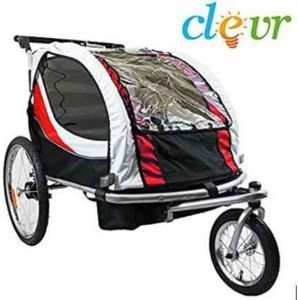 Affordable Clevr 2-in-1 Foldable Quality Bicycle Trailer Baby Jogger that is under $200 on most big online stores. Check it out today.