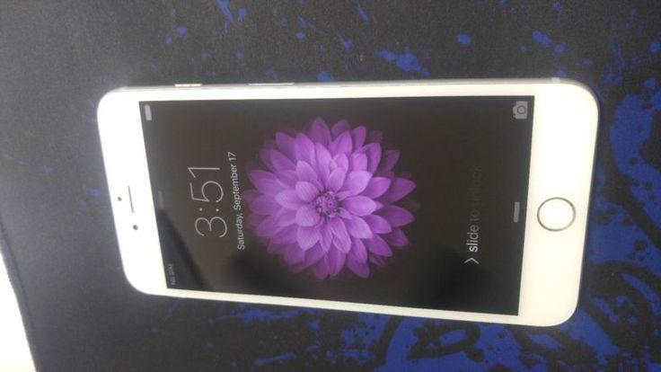 Apple iPhone 6 Plus - 16GB - Silver (Unlocked) Smartphone #unlocked #smartphone #silver #plus #iphone #apple