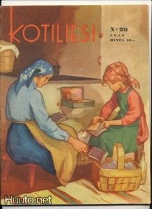 Wendelin, kotiliesi 1945 numero 20 - 4.5 € - Signeeratut taiteilijakortit - Postikortit - Keräily - Huuto.net - (avoin)