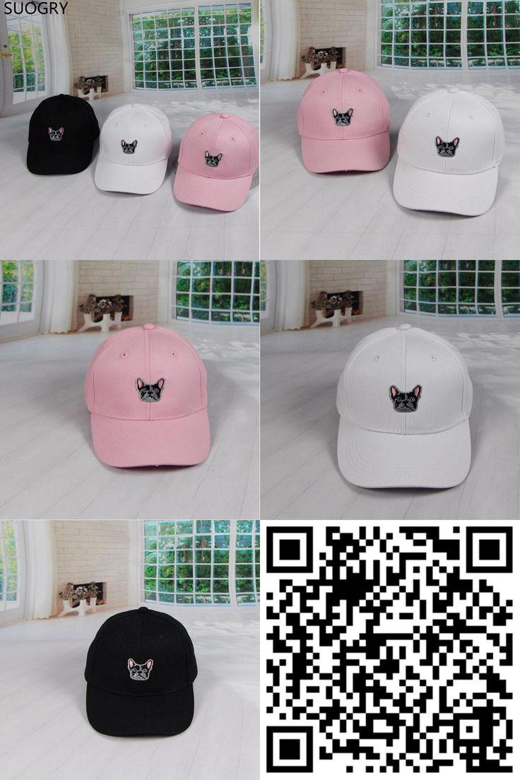 [Visit to Buy] 2016 Hot Lovely Dog Embroidery Baseball Peaked Cap Gorras Bending Along the Cap casquette snapback caps For Women Men #Advertisement