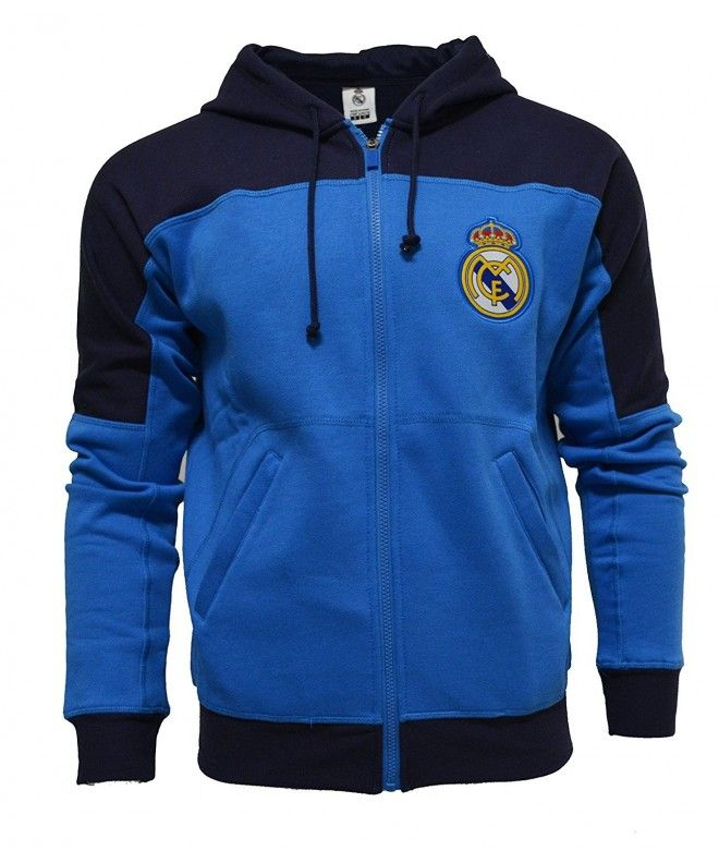 7974932be4e Real Madrid Zip Front Fleece Hoodie Sweatshirt Jacket - CD128PO301F,Men's  Clothing, Active, Track & Active Jackets #Fitness #outdoor #sports #Track &  Active ...