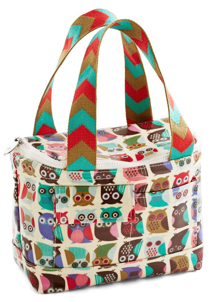 If You Can't Stand the Hoot Lunch Bag. Ever since you swooped up to work toting this charming lunch bag, your corner office has been a hotspot for haute looks! #multi #modcloth