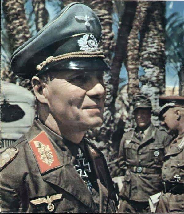 "Erwin Rommel as Generaloberst and Oberbefehlshaber Panzerarmee ""Afrika"""